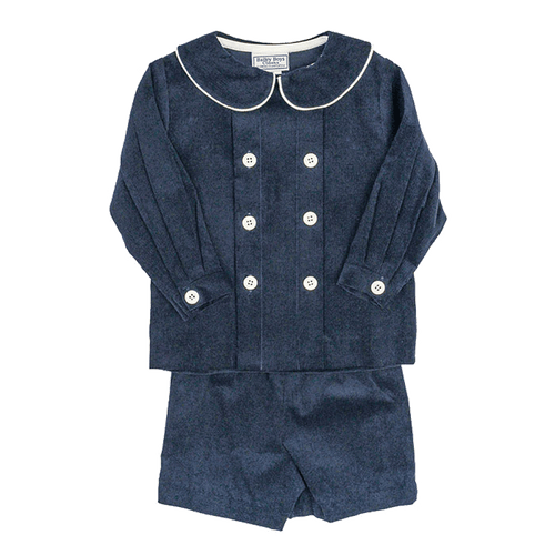 bailey boys corduroy set baby toddler boutique classic boy clothing