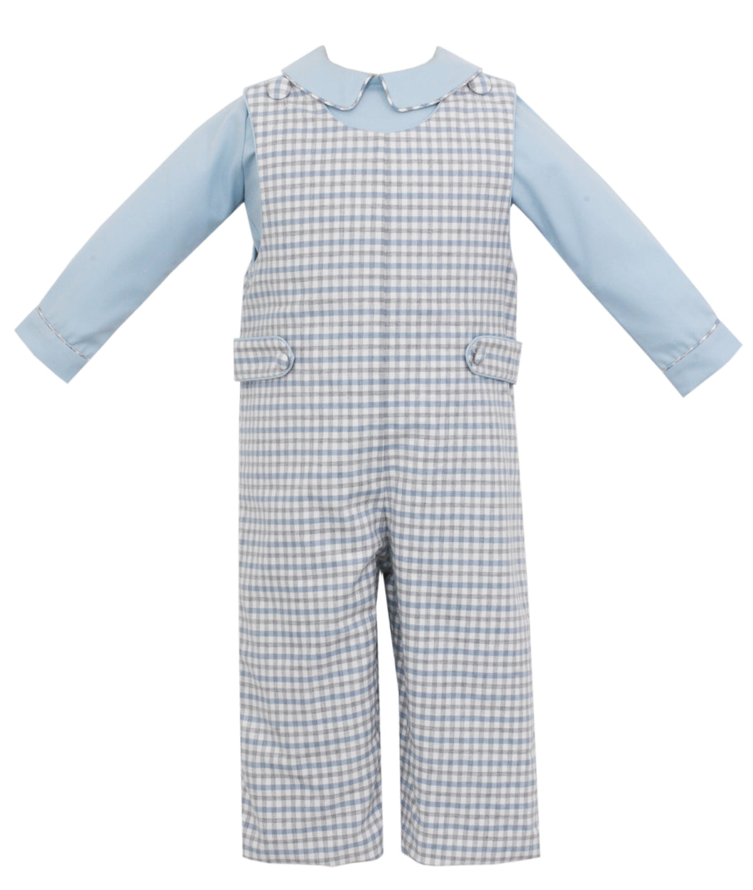 Smocked Longall with Shirt