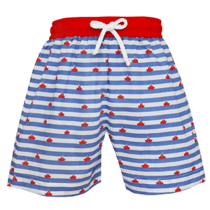 d78a4a7654 Sailboat Print Boy Swim Trunk – 1Z 2Z 3Z Baby & Toddler Boutique