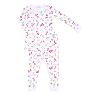 1z 2z 3z Scooting By Long Sleeve Pajama Set Magnolia Baby Richmond Virginia