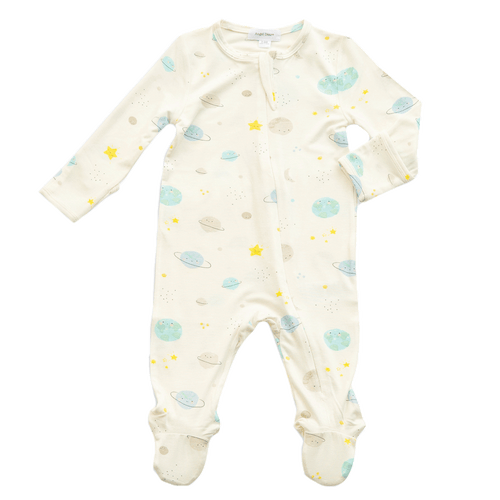 1z 2z 3z richmond virginia baby and toddler boutique angel dear cosmic wonder zipper footie