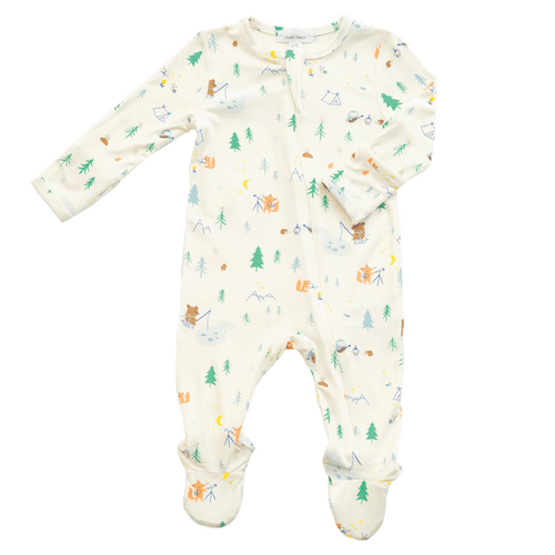 1z 2z 3z baby and toddler boutique little campers zipper footie angel dear