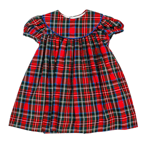 1z 2z 3z Wales Plaid Float Dress with bib collar by bailey boys classic childrens boutique clothing holiday