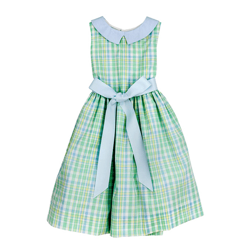 bailey boys seaside plaid dress little girl boutique clothing