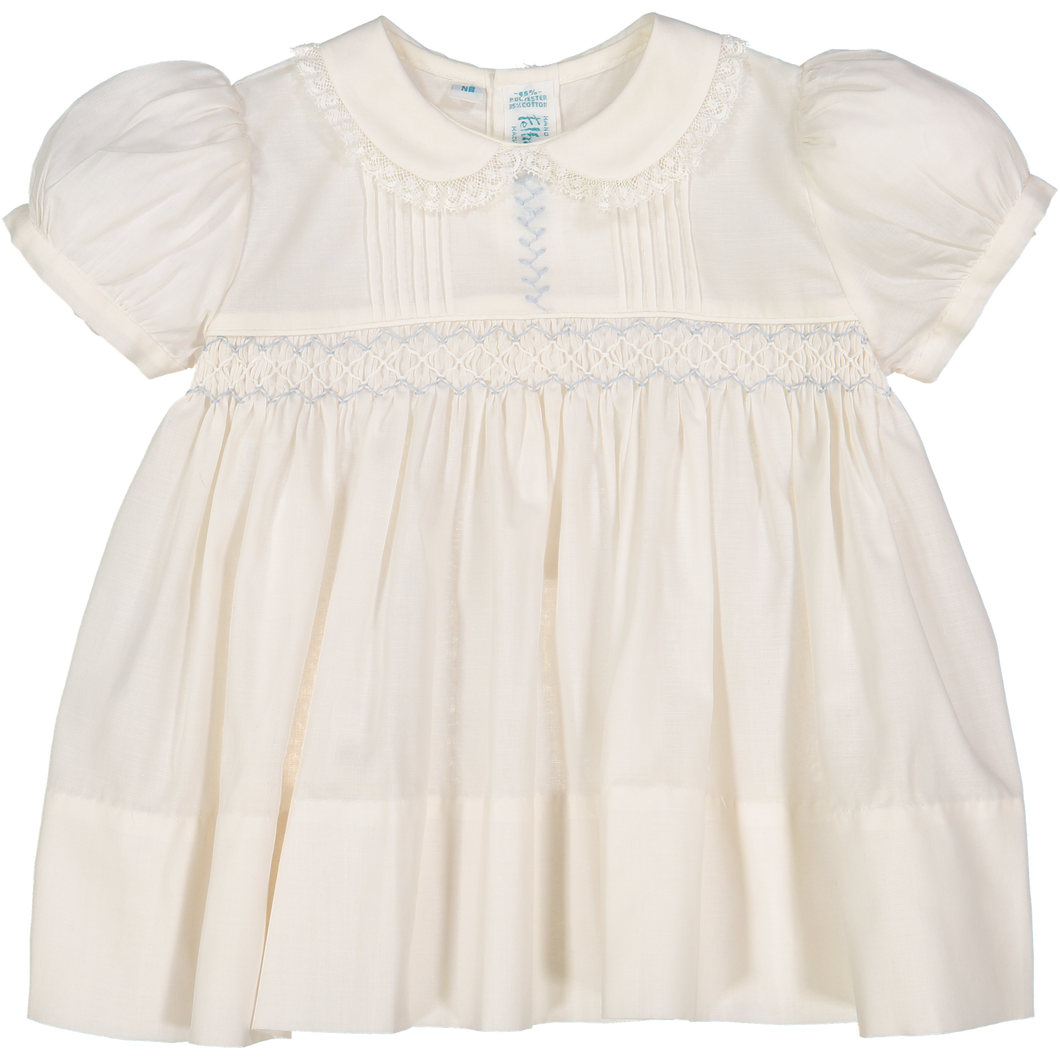 1z 2z 3z Ivory Teenie Weenie Dress Smocking Feltman Brothers Richmond Virginia