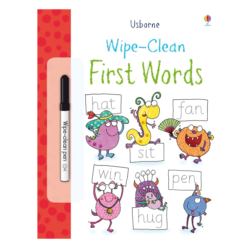 First Words Wipe Clean
