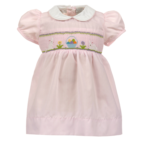 1z 2z 3z Smocked Easter Dress Girl Carriage Boutique
