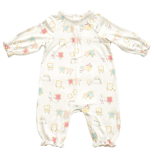 1z 2z 3z jelly toast romper angel dear bamboo outfit smocked baby boutique gift