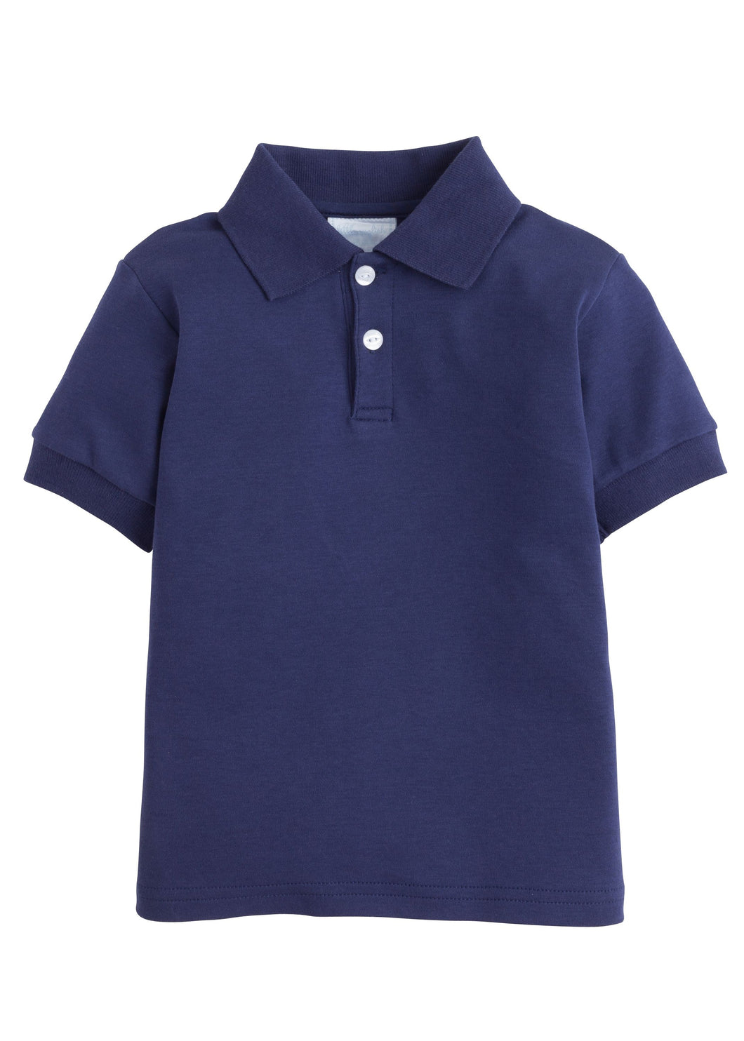 Solid Polo in Navy
