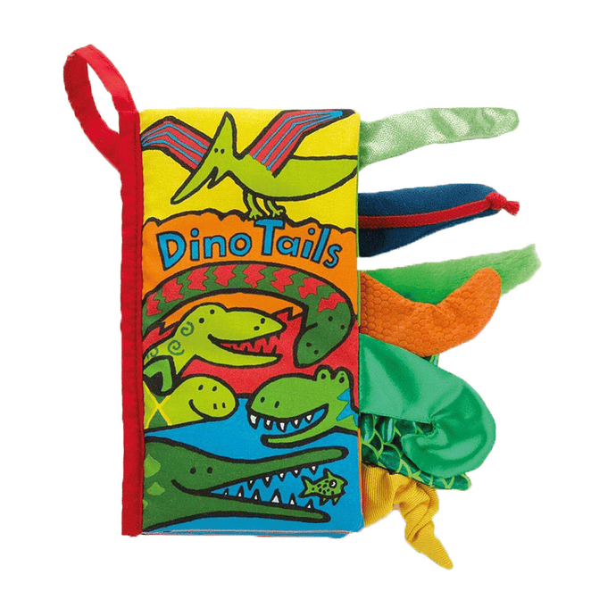 Dino Tails Activity Book