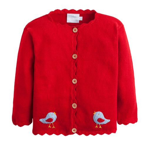 Birdie Crochet Sweater