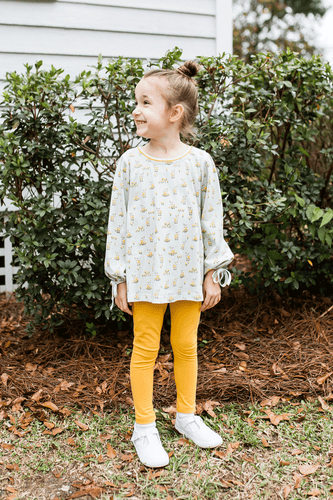 1z 2z 3z baby and toddler boutique legging set floral deer yellow lullaby set richmond virginia