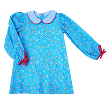 1z 2z 3z lullaby set baby toddler boutique blue floral day dress back to school fall dresses kids clothing