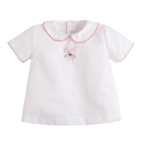 Candy Cane Whipstitch Day Shirt