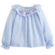 1z 2z 3z cherry grande bespoke blouse little english baby and toddler boutique childrens clothing