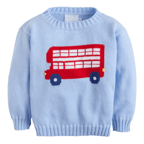 Double Decker Intarsia Sweater