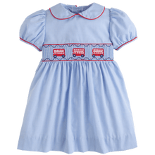 1z 2z 3z double decker smocked peter pan dress little english childrens clothing