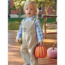 Corduroy Overall in Hunter