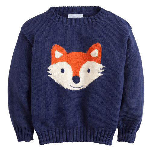 1z 2z 3z fox intarsia sweater classic childrens clothing fall little english boy toddler