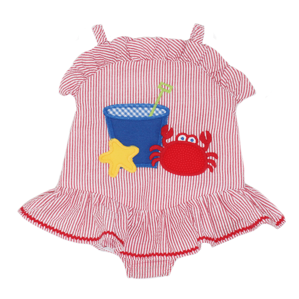 1z 2z 3z Bucket Swim with Ruffle Bailey Boys Girl Swim