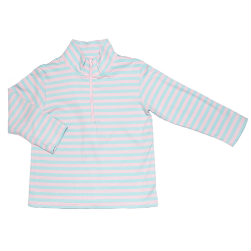 1z 2z 3z cookie half zip sweater baby pink blue girl clohting sweater outerwear