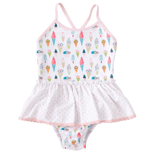 ice cream one piece charming mary baby and toddler swimwear boutique