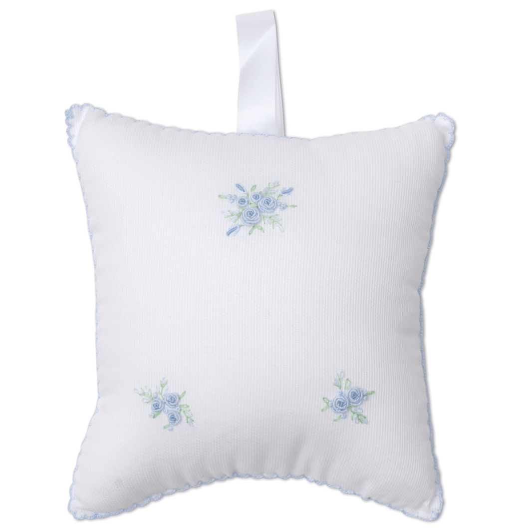 Winter Rosebuds Musical Pillow