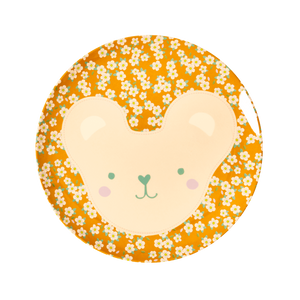Melamine Lunch Plates with Animal Prints