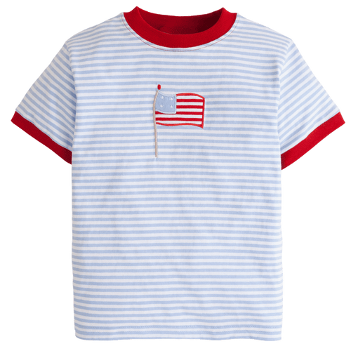 Flag Applique T-Shirt