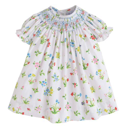 Kensington Floral Bishop Dress