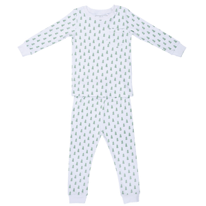 lila and hayes trees in the snow bradford pajama set children boutique christmas pajamas pima