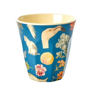 Melamine Cup with Blue Art Print