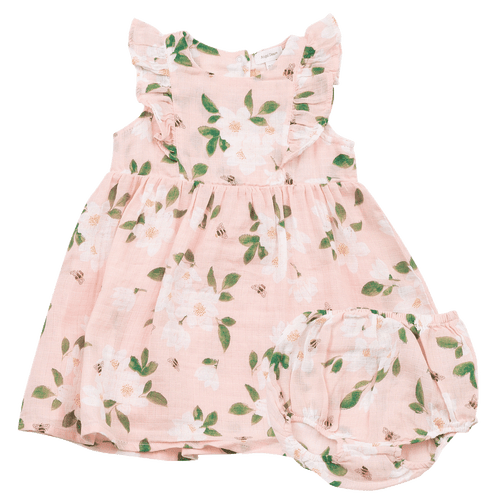 1z 2z 3z magnolia angel dear girl ruffle dress with diaper cover
