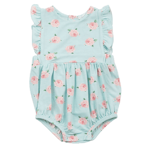 Angel Dear Petite Roses ruffle bubble classic childrens baby clothing boutique