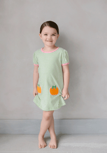 Pumpkin T-Shirt Dress