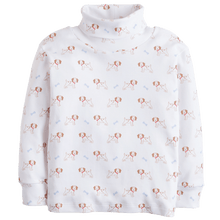1z 2z 3z baby and toddler boutique puppy printed turtleneck little english