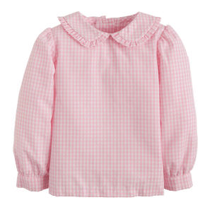 1z 2z 3z richmond virginia pink peter pan ruffled blouse little english girl clothing back to school