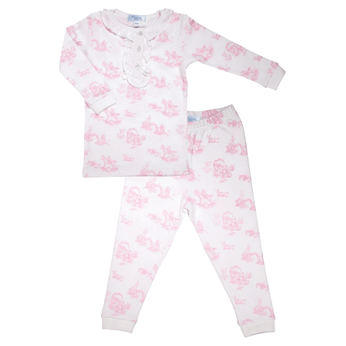 1z 2z 3z nella pima cotton toile pajamas southern baby girl boutique clothing