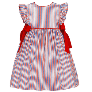 Float Dress with Red Bows