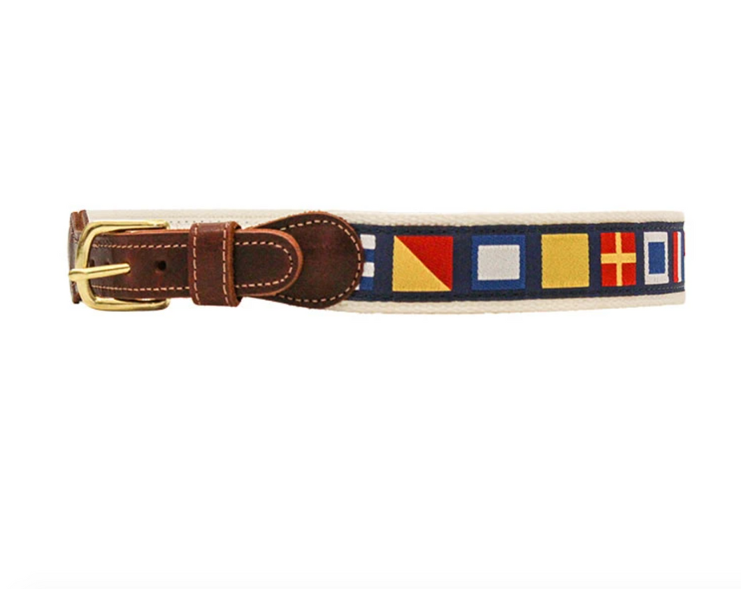 Buddy Belt in Nautical Flags