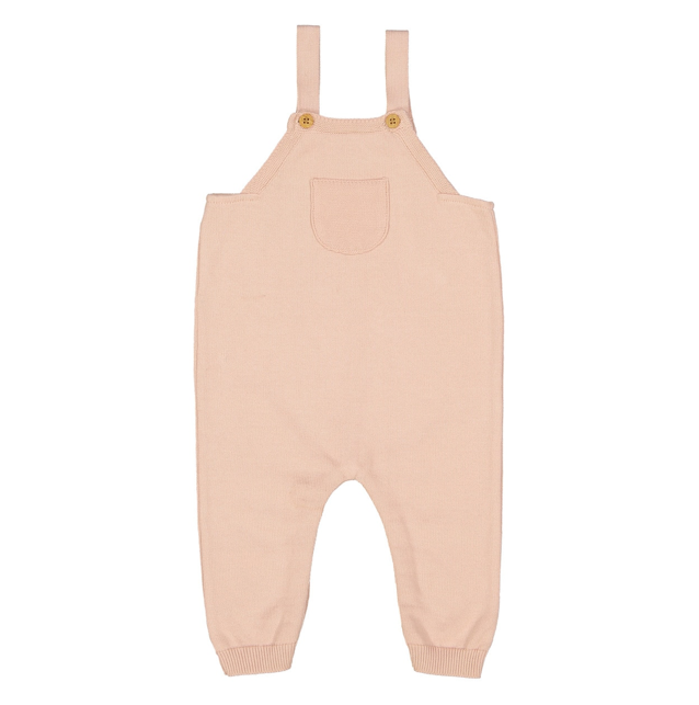 Classic Knit Overall in Sea Coral