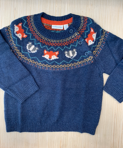 Woodland Fair Isle Jumper