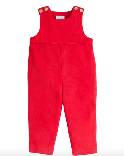 Basic Overalls in Red