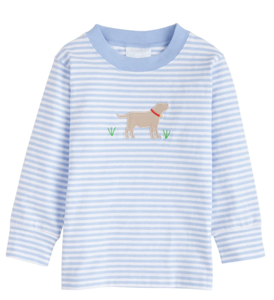 Lab Applique T-Shirt Boy