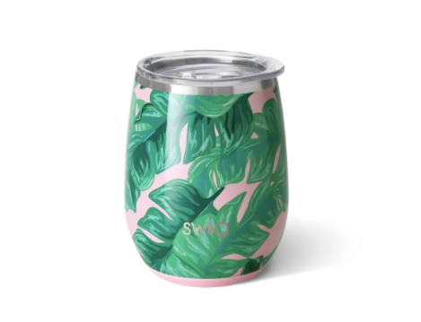 Palm Springs Swig Stemless Wine Cup