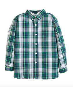Button Down Shirt in Kentuckey Tartan