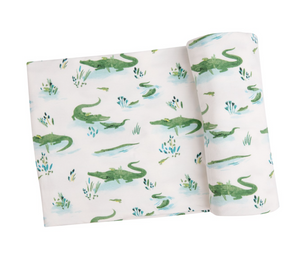 Gators Swaddle Blanket