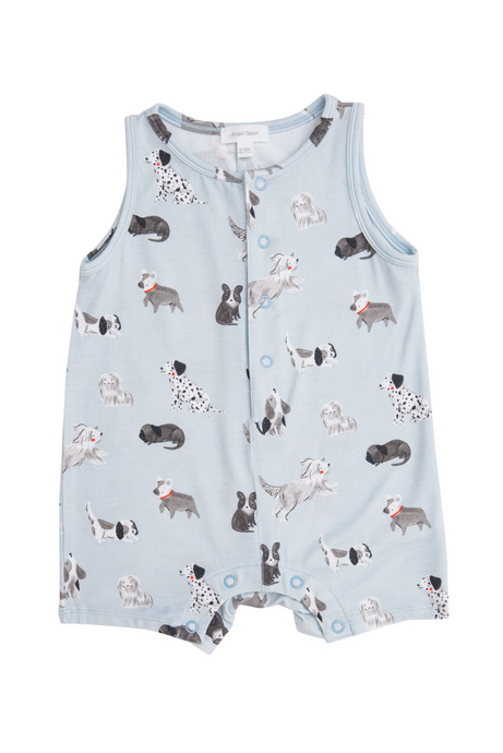 Grey Hound Shortie Romper