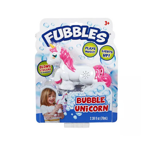 Fubbles Musical Unicorn Bubbles