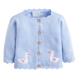 1z 2z 3z baby and toddler boutique crochet sweater swan little english